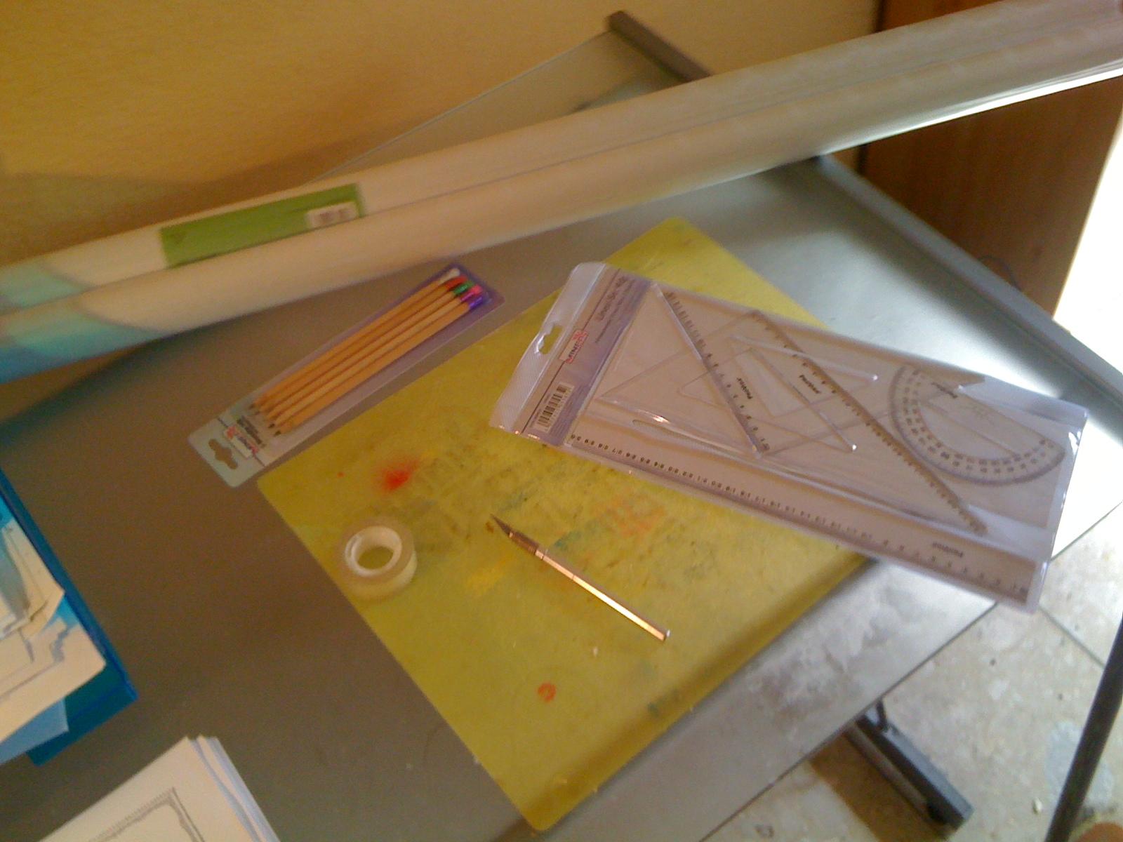 Werkzeug, Lineal, Stencil, Arbeit, Work, Material, kreativ