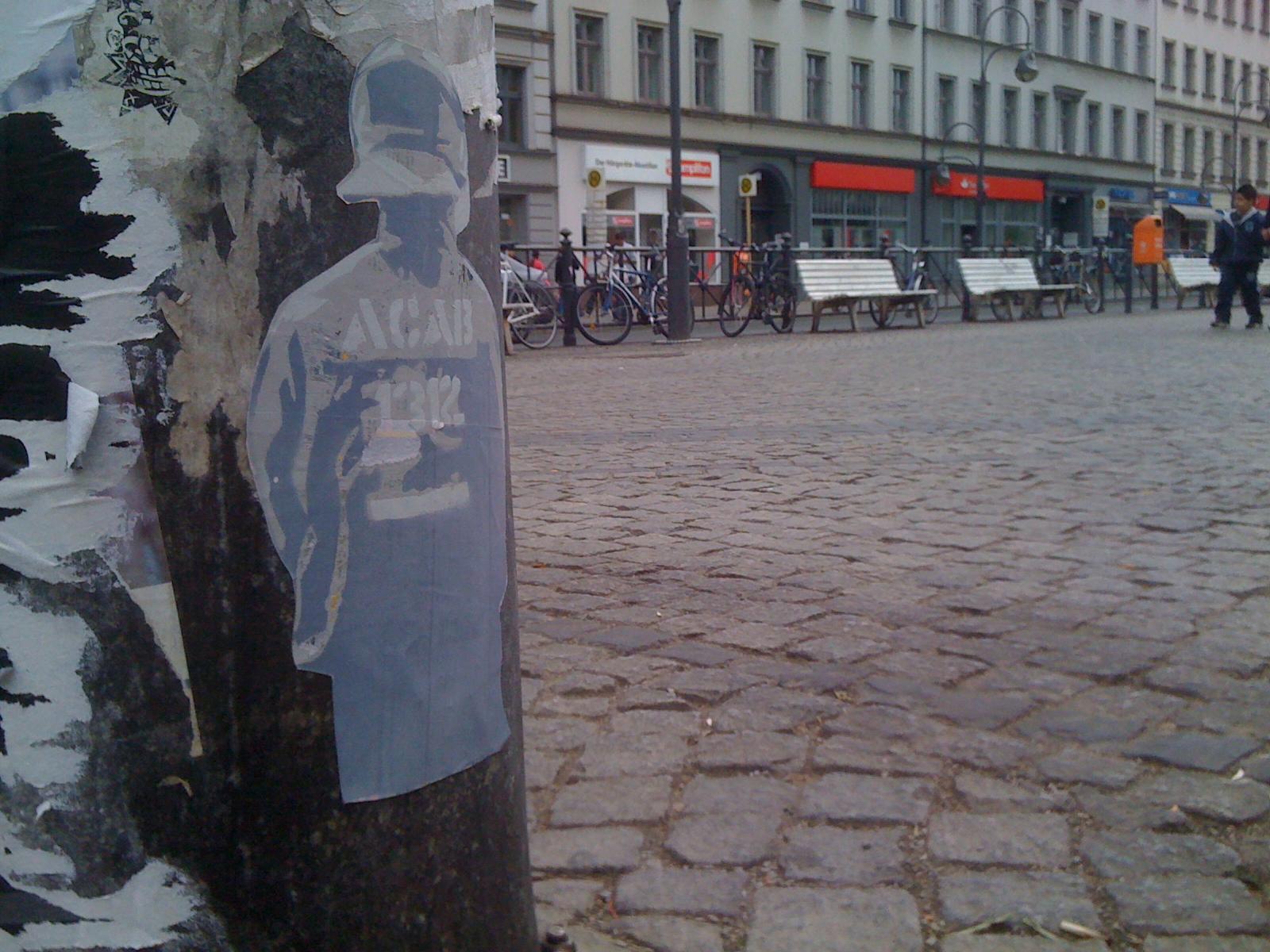polizist, bulle, acab, 1312, polizei, berlin, riotcop