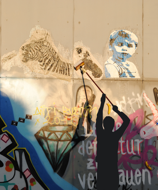 plakat, plakatieren, streetart